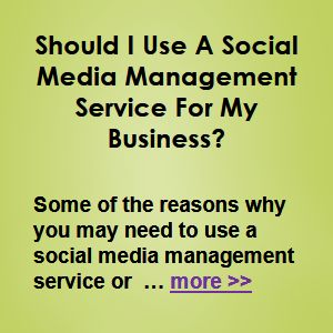 Some of the reasons why you may need to use a social media management service/professional are … more >> #SocialMediaMarketing #SocialMedia #SMM #SMO #Social #Marketing #Sales #Business #Ecommerce