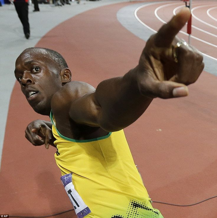 Lightning Bolt strikes gold: Usain storms to 100m glory and he answers his critics with resounding victory in 9.63 seconds