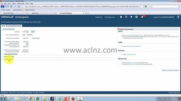 On YouTube: Overview of Oracle iReceivables (on Oracle EBS R12.2.4)