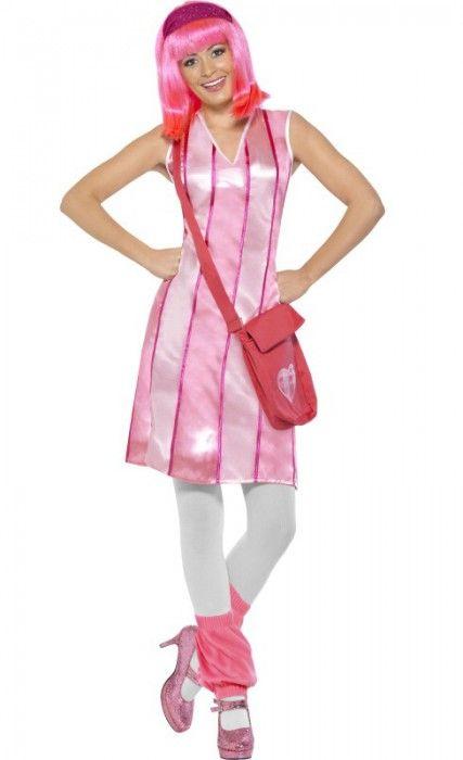 Stephanie Women's LazyTown Costume
