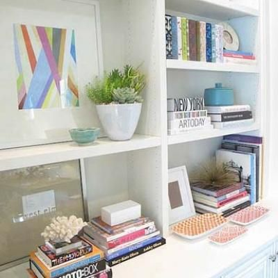 26 Best Images About Bookcase Decorating On Pinterest