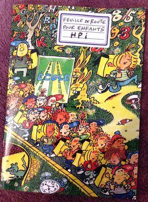 """La brochure """"Feuille de route pour enfants HPI"""" éditée par l'ASEP Suisse"""