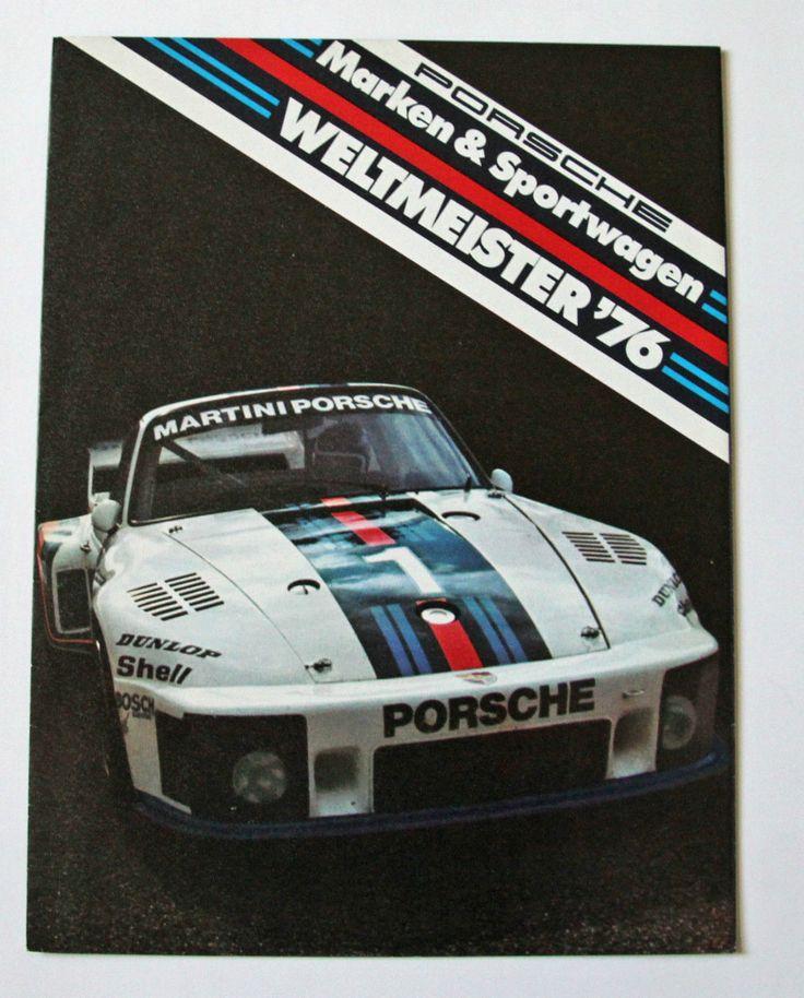 Porsche Marken & Sportwagen Weltmeister '76, 1134.10, 935, 936, Ickx, Mass | eBay