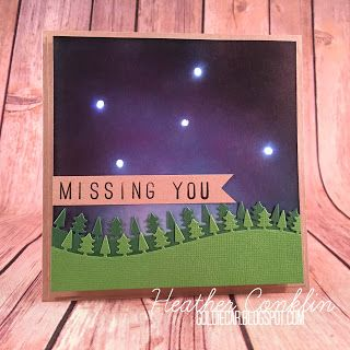 light up stars in night sky card chibitronics DIY LED paper circuit