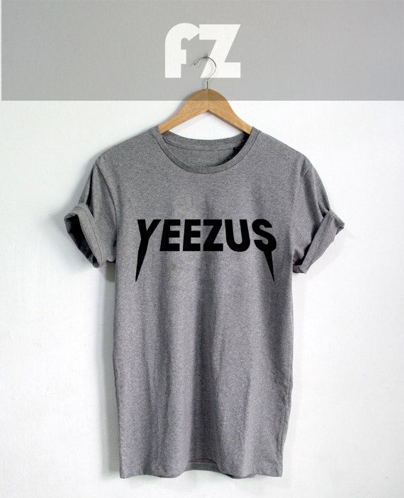 Kanye West Shirt Yeezus Tour Shirt T-shirt Tee Shirt by Frozzus