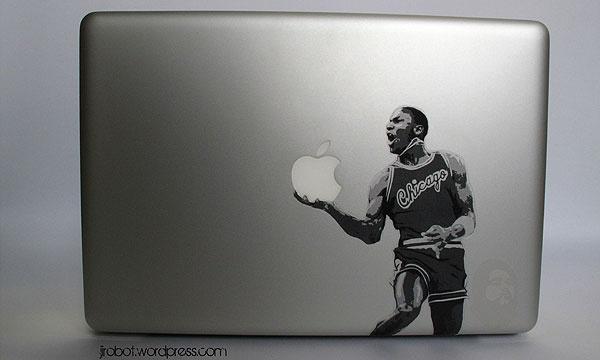 Michael Jordan Macbook Sticker: Mac Book, Macbook Stickers, Mac Hacks, Jordans, Jordan Estampas, Jordan'S, Jordan Macbook, Michael Jordan