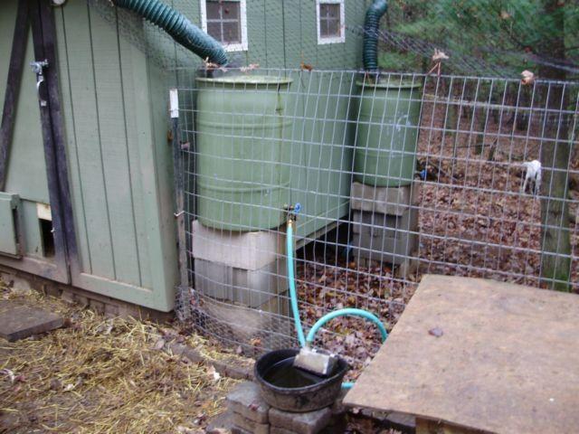Make Your Own Chicken Waterer Homesteading Pinterest