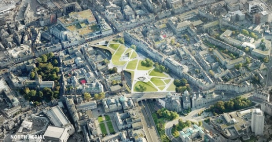 Bustler: Diller Scofidio + Renfro Beat Out Strong Competition at Aberdeen City Garden Project