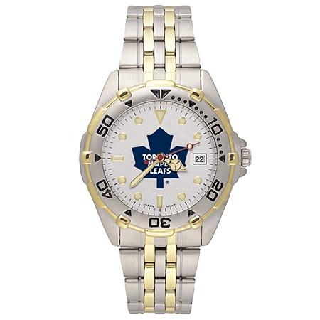 Men's Toronto Maple Leafs watch in stainless steel
