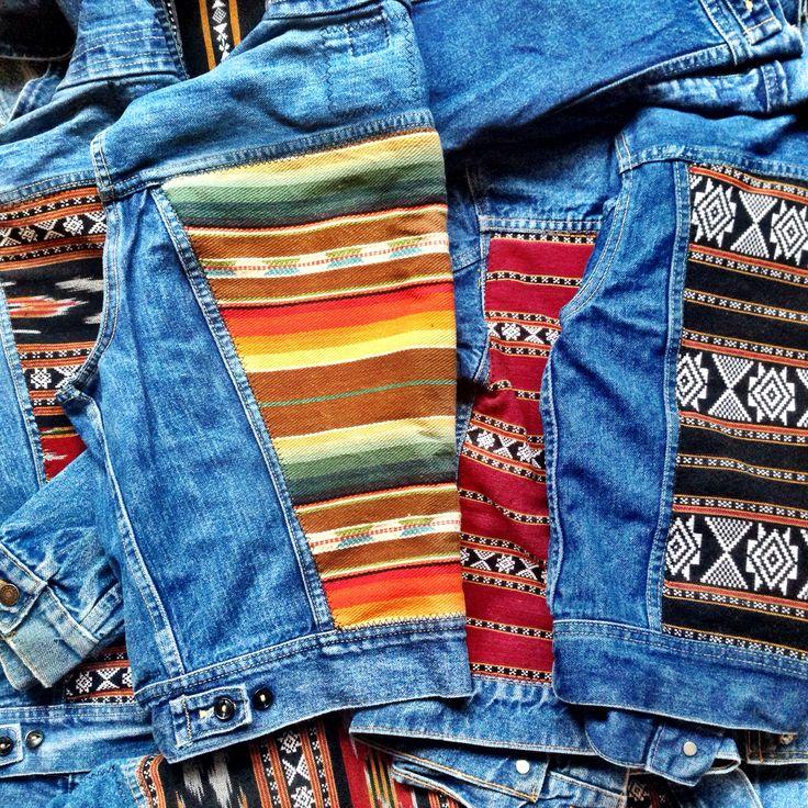 Gull + Marie   Vintage denim jackets and vests - £66.99 (www.thenativestate.com)