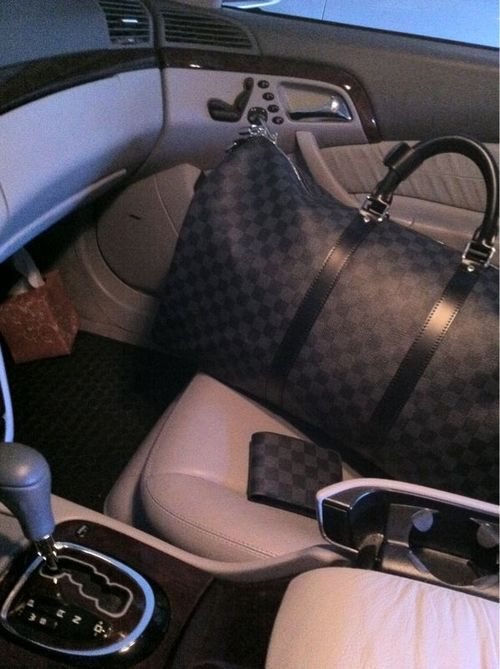 Louis Vuitton Damier Graphite Keep All