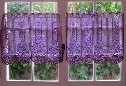 purple kitchen curtains | visit etsy com