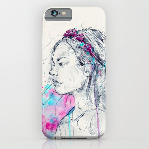 Lily III Cell Case by Marie-Ève Arpin - Art on Society6  http://society6.com/product/lily-iii-sz5_iphone-case#52=377