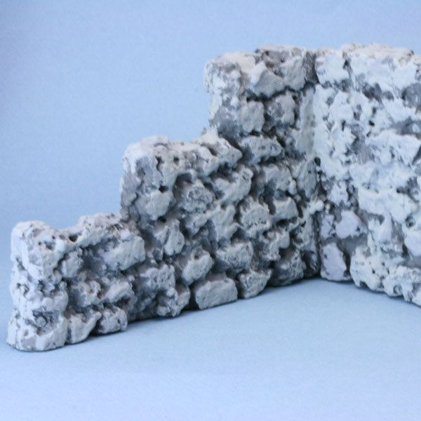 Stone Walls from different types of foam