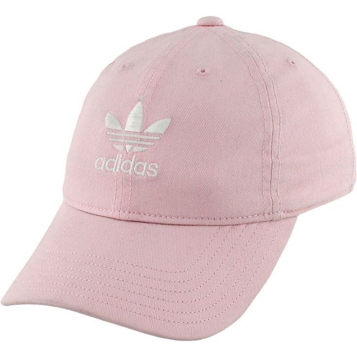 adidas Originals Women's Relaxed Strapback Cap, Pink