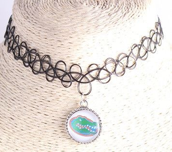 Choker Necklace Outfits National Collegiate Athletic Association League Sports Team