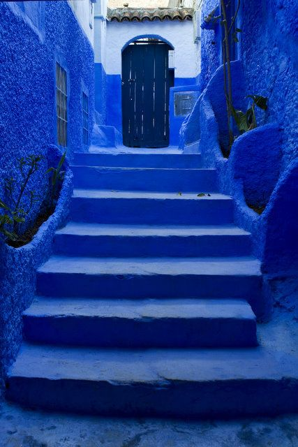 I want to go back to the blue city of Morocco, Chefchaouen.