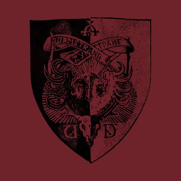 Durmstrang Institute Crest T Shirt Harry Potter T Shirt Teepublic Harry Potter Asthetik Harry Potter Quidditch Sturm Und Drang Harry potter logo is familiar to us in its as we think unchanged version. pinterest