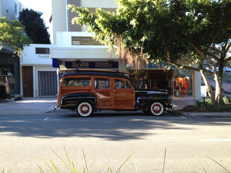 Vintage Wagon in  Hastings Street,Noosa Australia