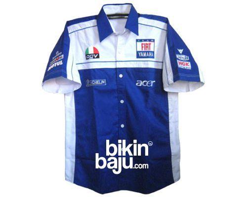 contoh desain baju kemeja seragam f1 2015 2016, desain model kemeja kerja formula one f1