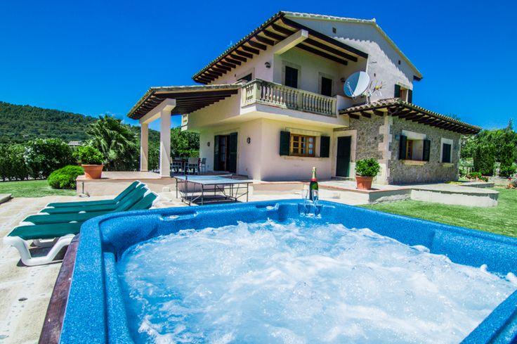 Villa Son Rasca - Mallorca #mallorca #majorca #villas #villas #holiday #holidays #spain #luxury
