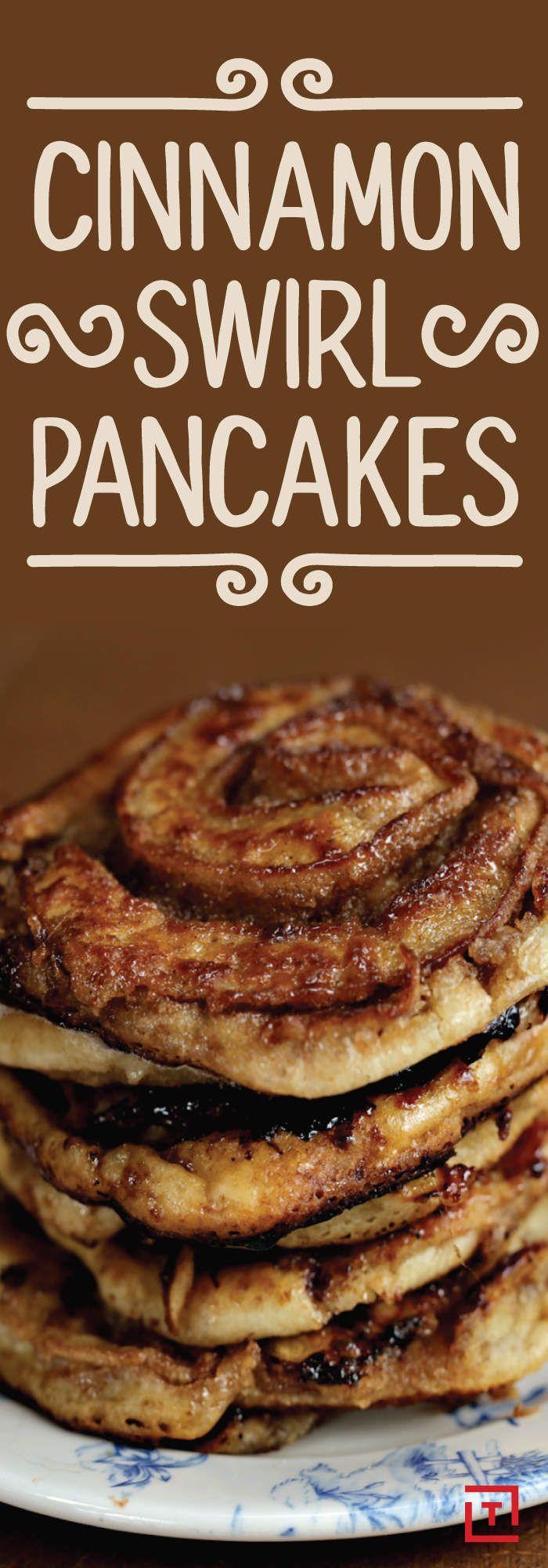 Cinnamon swirl pancakes...enough said