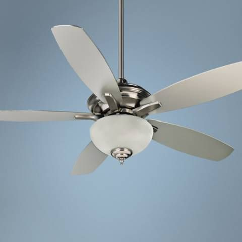 "52"" Craftmade Copeland Stainless Steel Ceiling Fan - #6D846 
