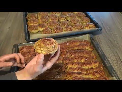 Haşhaşli Cevizli Çörek Tarifi - YouTube