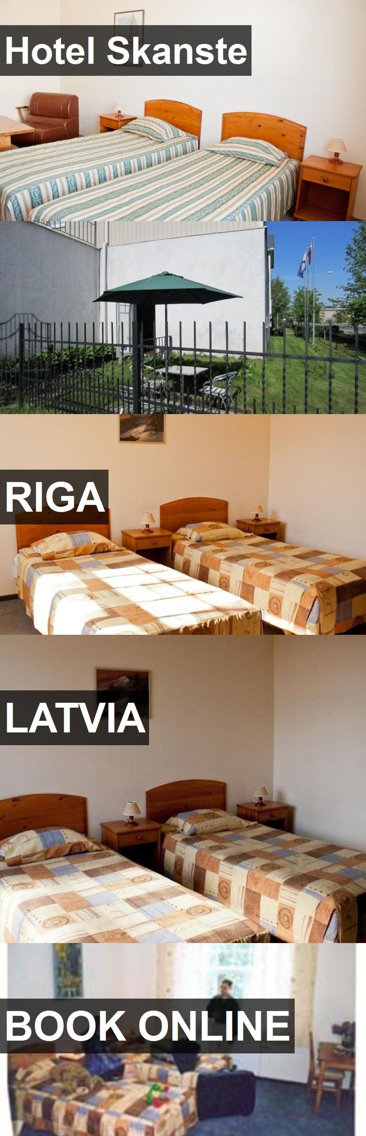 Hotel Skanste in Riga, Latvia. For more information, photos, reviews and best prices please follow the link. #Latvia #Riga #travel #vacation #hotel