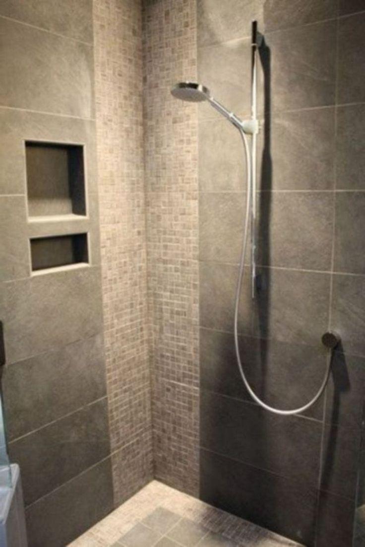 41+ Stunning Bathroom Tile Shower Design Ideas Pyykki