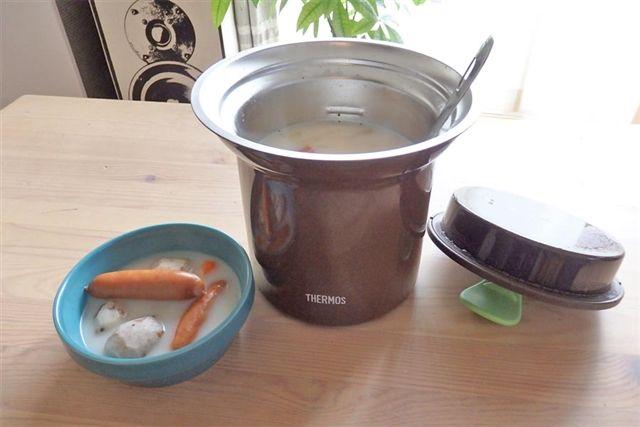 お湯入れて放置→調理完了! 「サーモス」の魔法のスープジャー - 価格.comマガジン