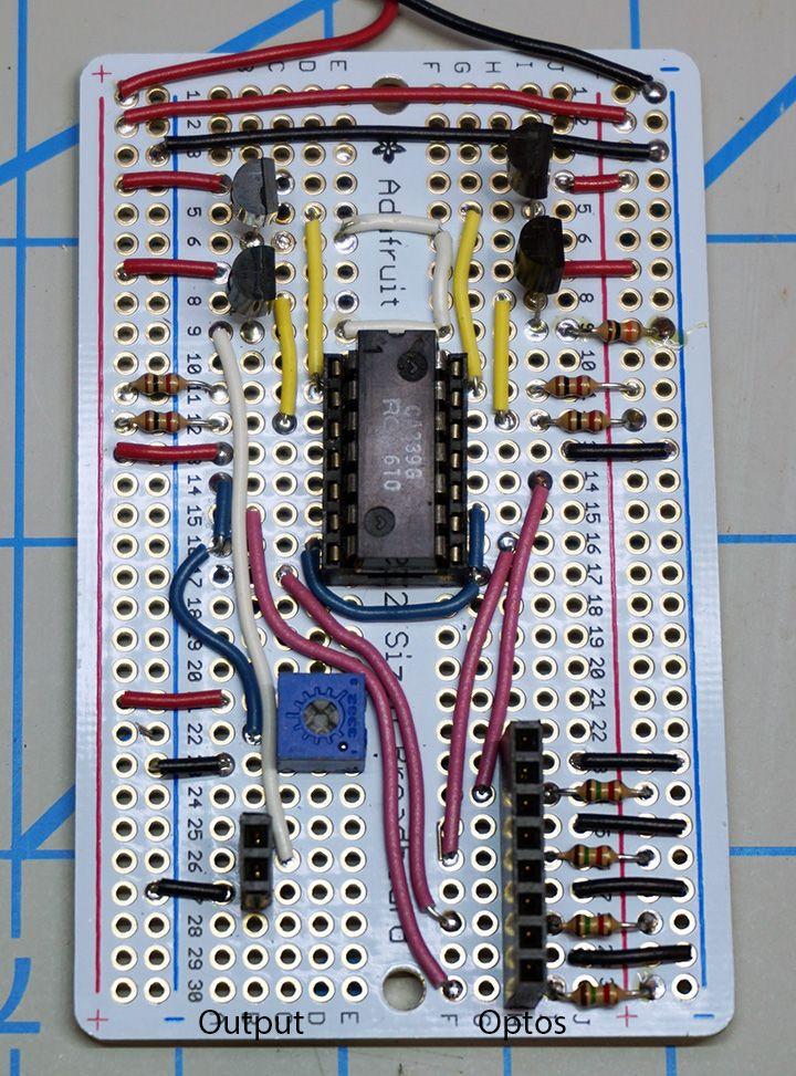 Build an optical detector circuit | Model Railroad Hobbyist