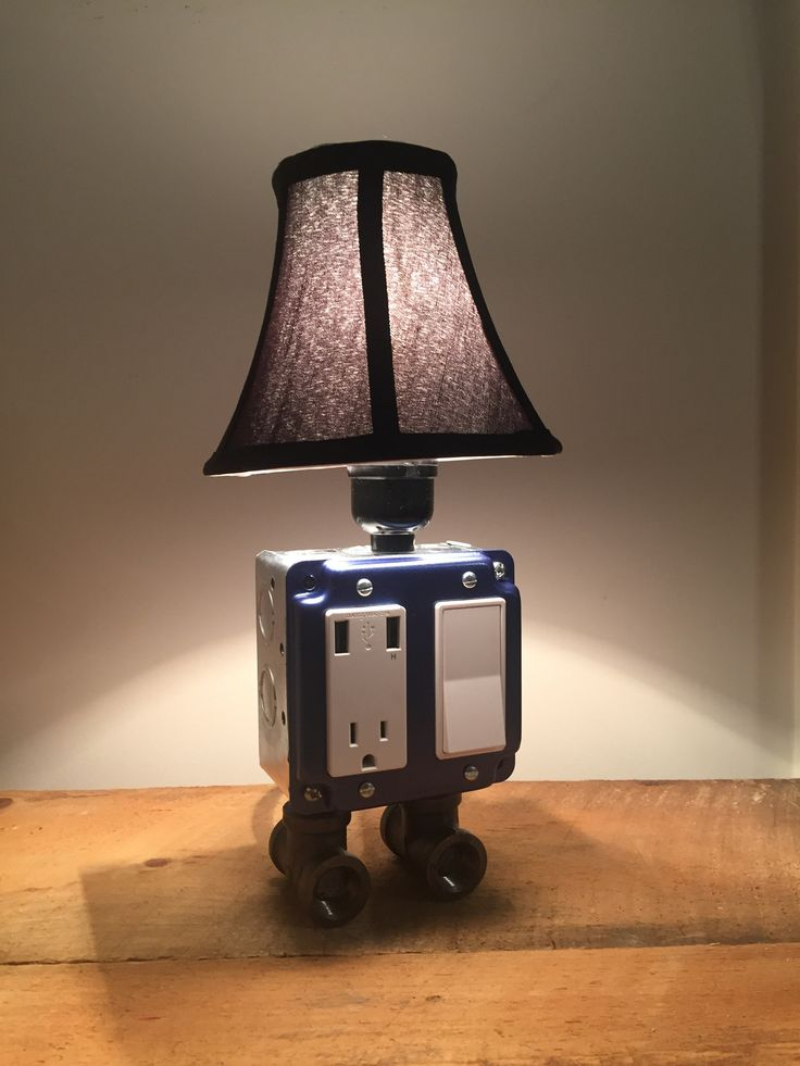 330 Best Images About Usb Charger Lamps On Pinterest
