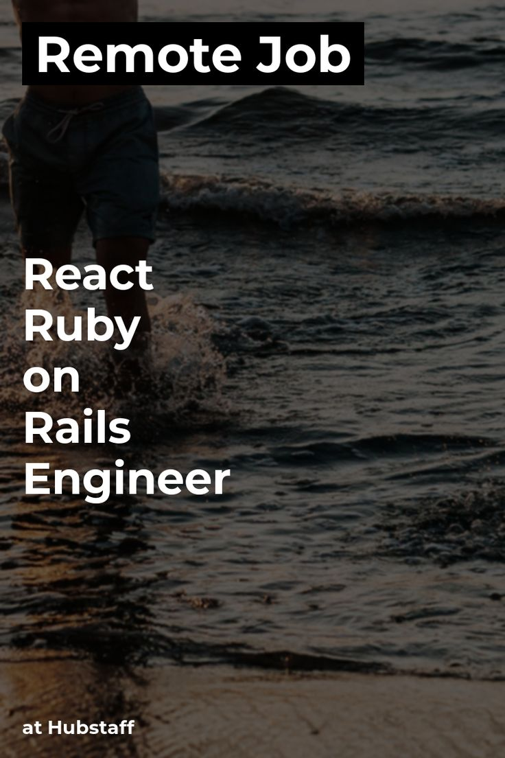 Remote React + Ruby on Rails Engineer at Hubstaff