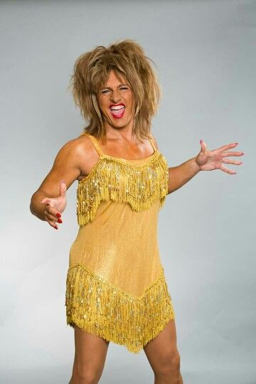 Petr Vondráček jako Tina Turner