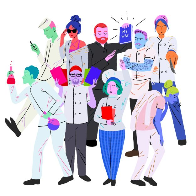 The 9 Types Of Cooks Who Work In Fine Dining Restaurants