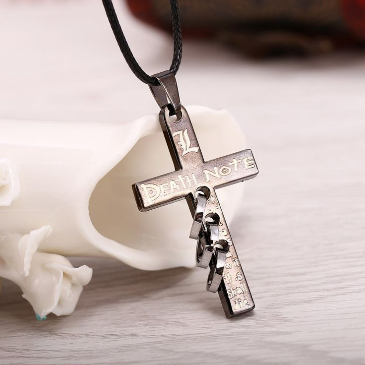 Buy DEATH NOTE Pendant Necklace at Pica Collection for only $ 11.44