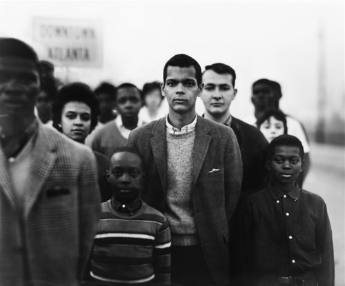 Student Non-Violent Coordinating Committee, headed by Julian Bond, Atlanta, Georgia, March 23, 1963