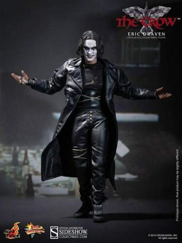 ERIC-DRAVEN-THE-CROW-HOT-TOYS-SIDESHOW-FIGURE-STATUE-USA-SELLER-BRANDON-LEE