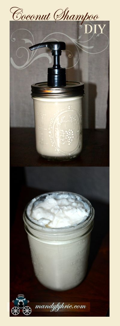 Sensitive Skin? Use this DIY Coconut Milk Shampoo: Great for all hair types :) mandyfyhrie.com