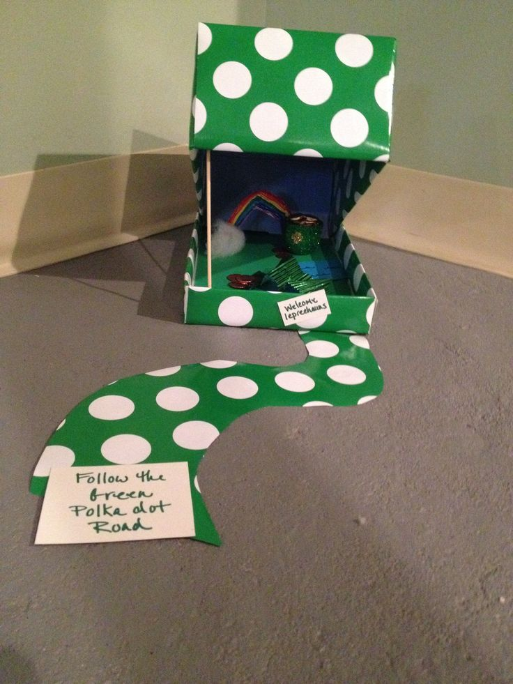 leprechaun trap project This was a school project for st patrick's day the kids were instructed design and build a device that would trap a leprechaun and he would have to give up his gold it works on a simple principle the leprechaun picks up the gold which springs the trap and the cup falls and traps the leprechaun.