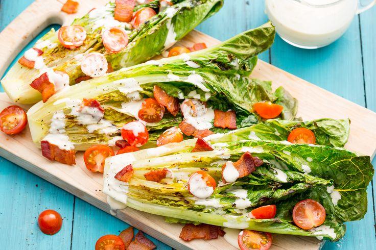 Grilled Romaine Caesar Wedge