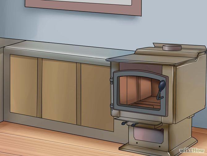 Imagem intitulada Install a Wood Stove Step 1