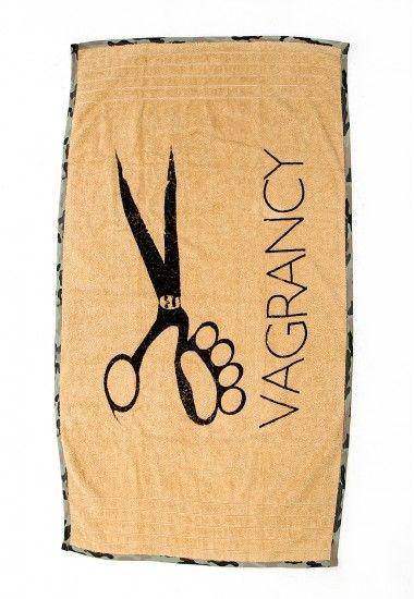 beige beach towel #beachtowel #vagrancy #towel