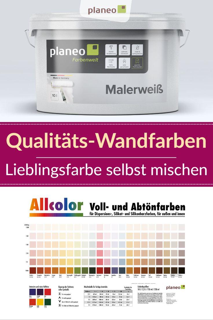 Pin Auf Farbe Wandfarbe Streichen