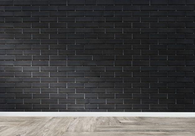 Pin On عکس های مناسب طراحی Black brick wallpaper bedroom ideas