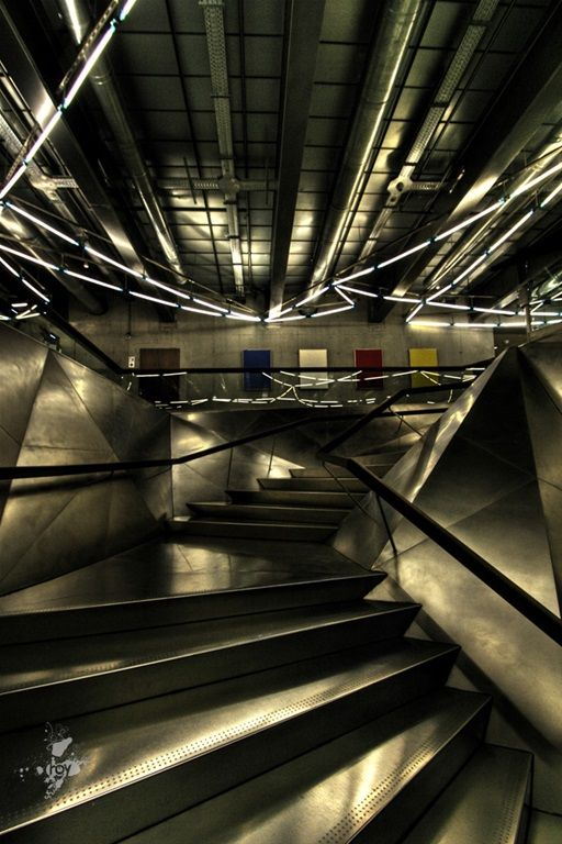 Caixa forum H&M stairs