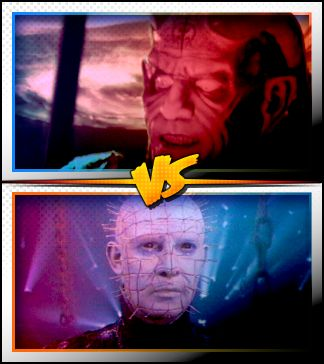 THE DJINN versus PINHEAD ■ http://terror.ca/movies/franchise/rank?f=291&f2=261