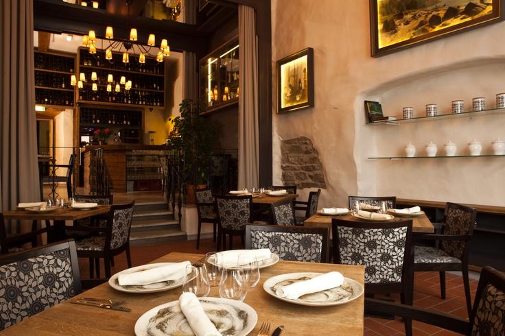 Restoran CRU - väga huvitavad lauanõud