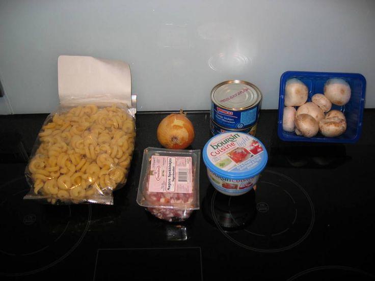 Pasta Met Tonijn En Boursin Cuisine recept | Smulweb.nl